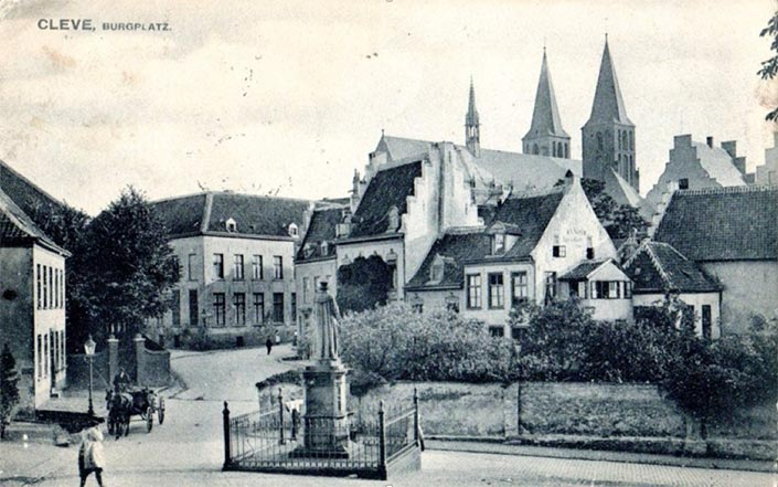 AK226CleveBurgplatz